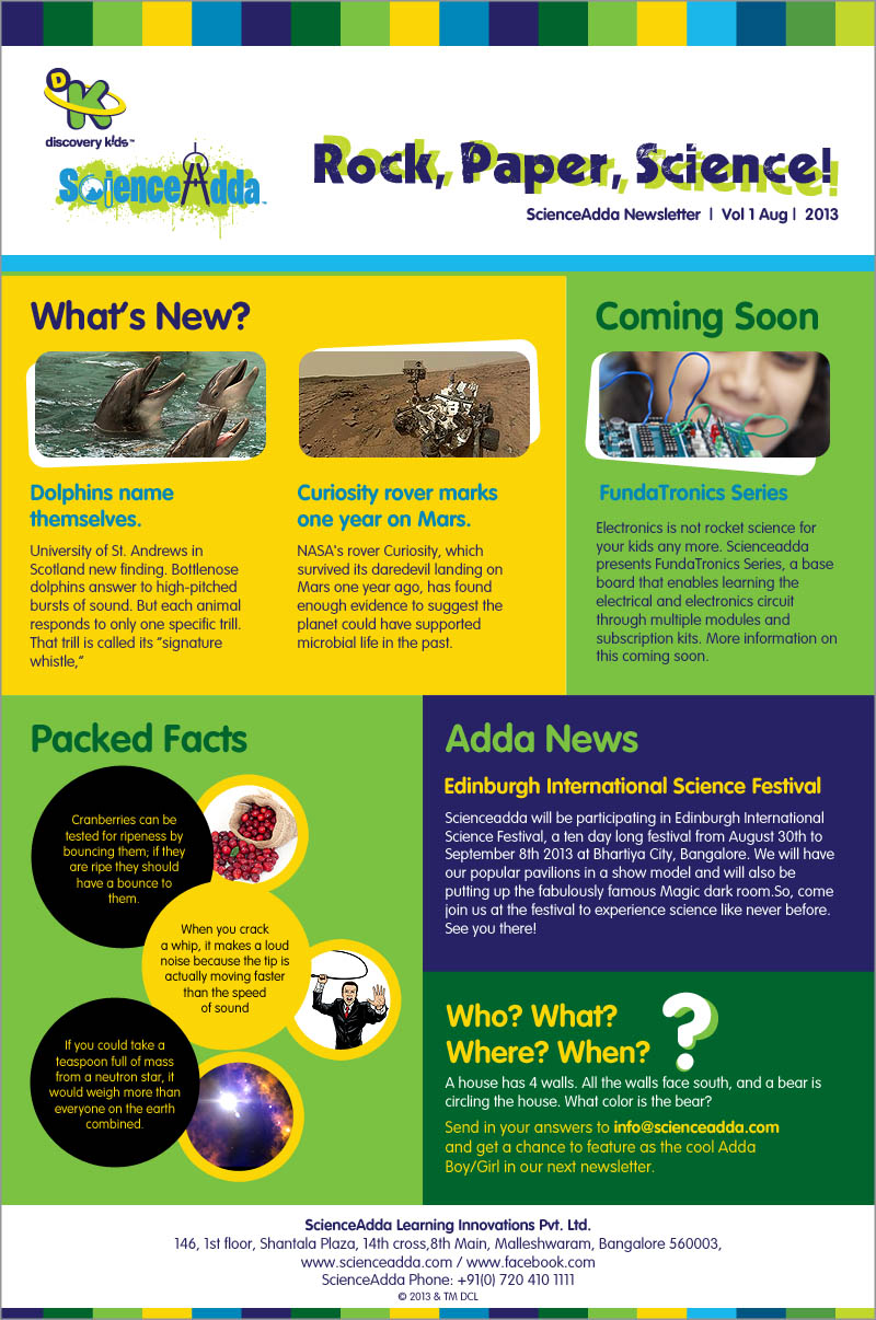 Science Newsletter Templates Images Template Design Ideas - Staff newsletter templates